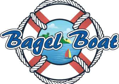 Bagel Boat Sponsor for Bon Temps Paddle Battle on Wylie - Anchored Soul's Belmont Paddle Boarding