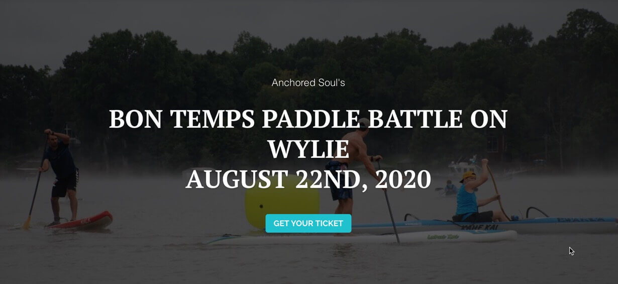 Bon Temps Paddle Battle on Lake Wylie August 22nd 2020 by Anchored Soul.